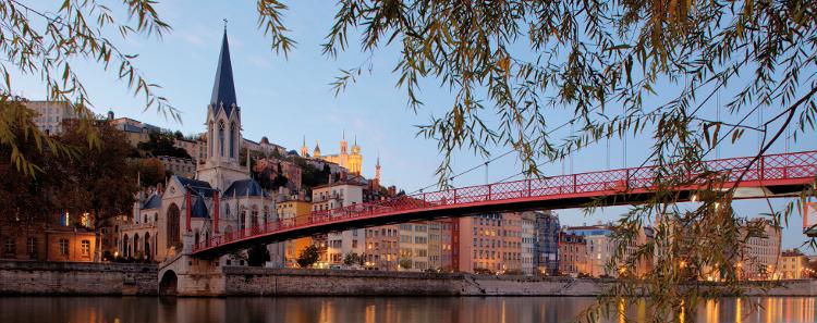 The city of Lyon
